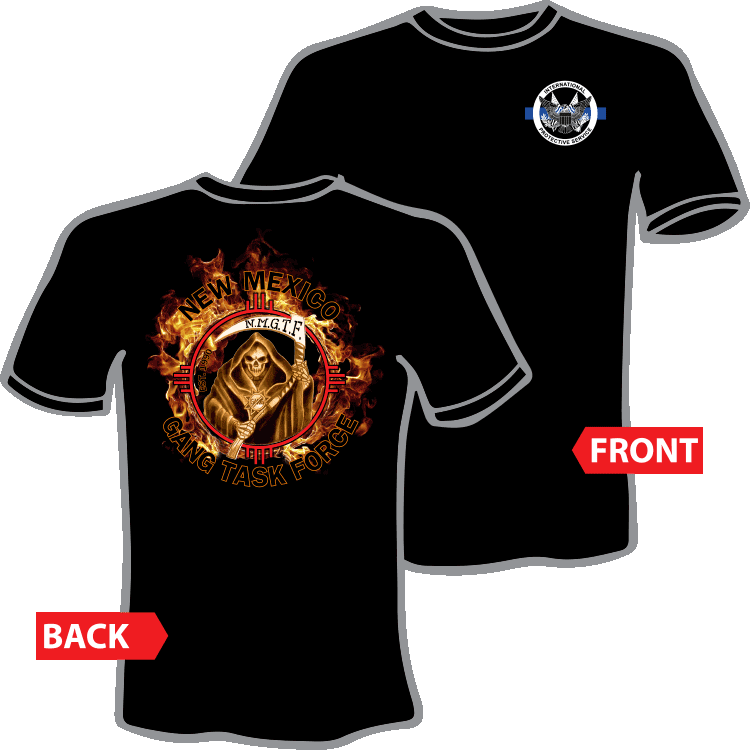 NMGC Flaming Logo Tshirt combined