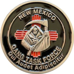 2020 NM Gang Conference Coin front
