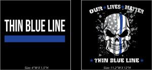 Our Lives Matter T-shirt graphics